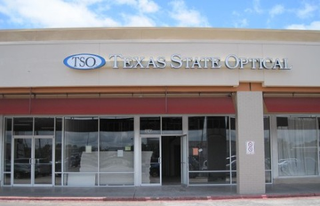 tso pearland eye care center store front